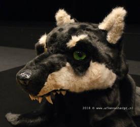 Werewolf trophy (side view)