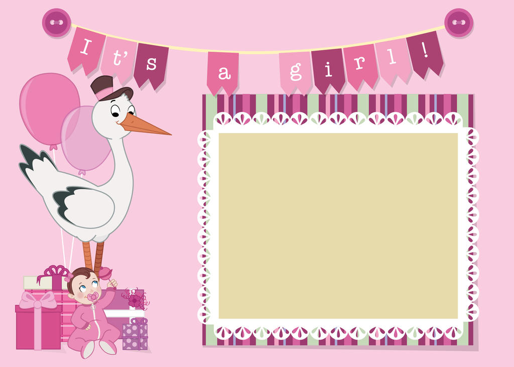 Baby shower invite 2 by JessicaElephant