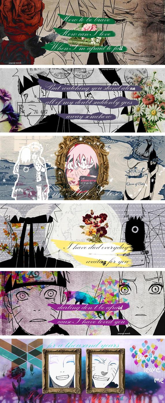 NaruSaku - A Thousand Years by payung-merah