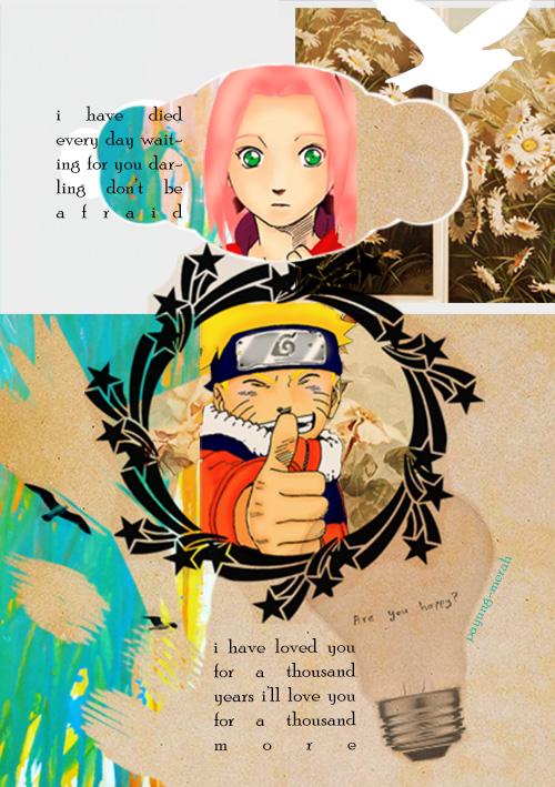 NaruSaku - A Thousand Years 2 by payung-merah