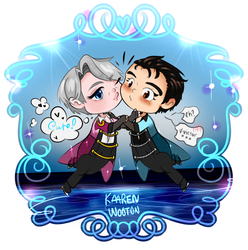 [YOI!!!] Stay Close to Me Duetto by Vroomm-Vroomm