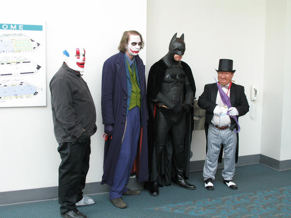 Batman cosplay group by negibus