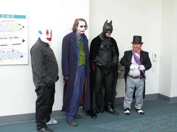 Batman cosplay group by negibus