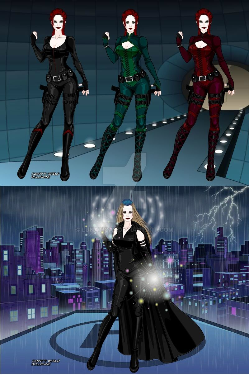 X-Girl-Candys-World-Doll-Divine-wideFFA by Lunatica3 on ... X Men Girl Creator