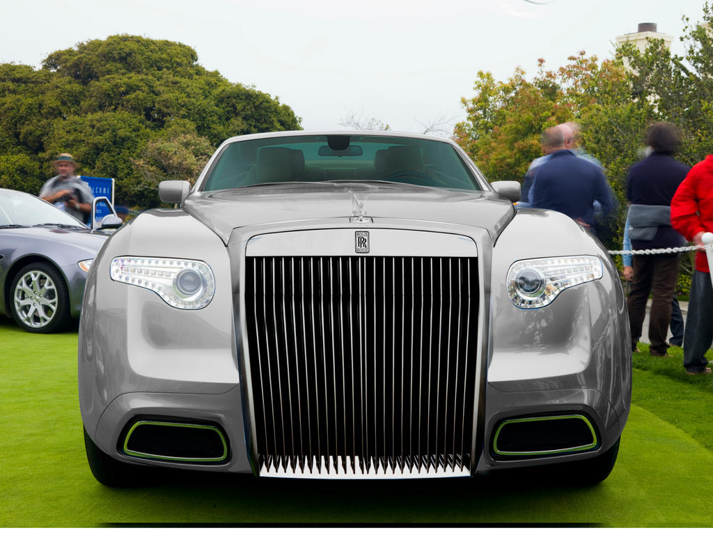 Pininfarina Rolls Royce Hyperion Fast Back By