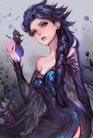 Evil Elsa by LydiaLynn1178