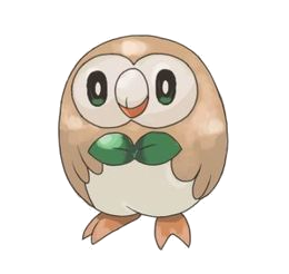 Rowlet by Mespehria