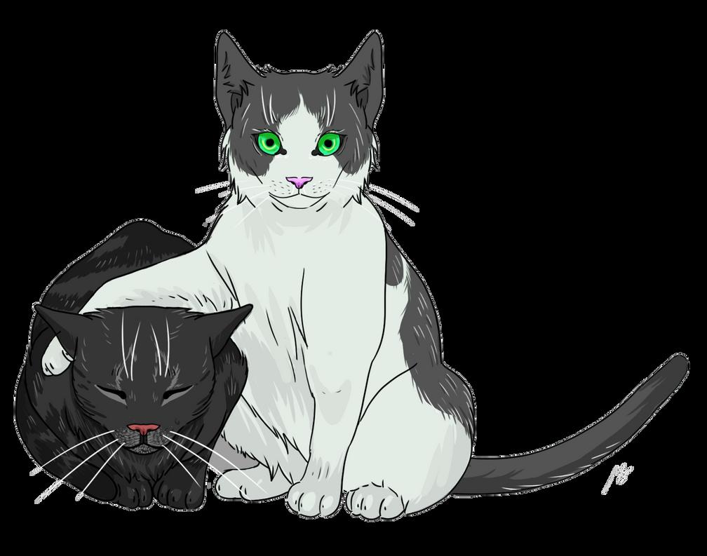 Morgana and Gigi by Mespehria