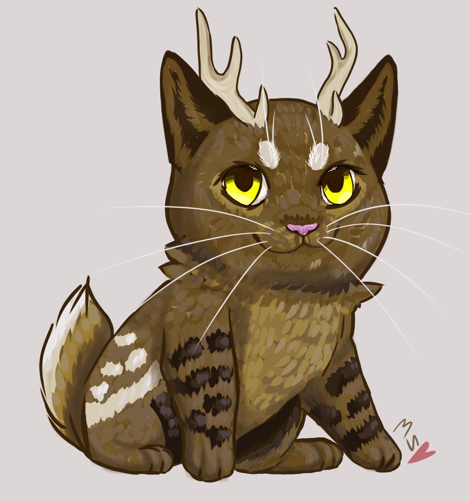 Deercat by Mespehria