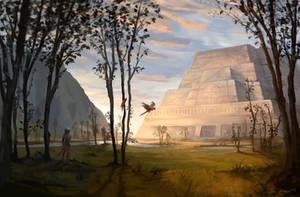 Temple of Atzoatl (Path of Exile Fanart) by Jstiller30