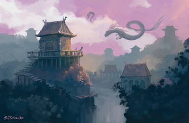 Dragons village