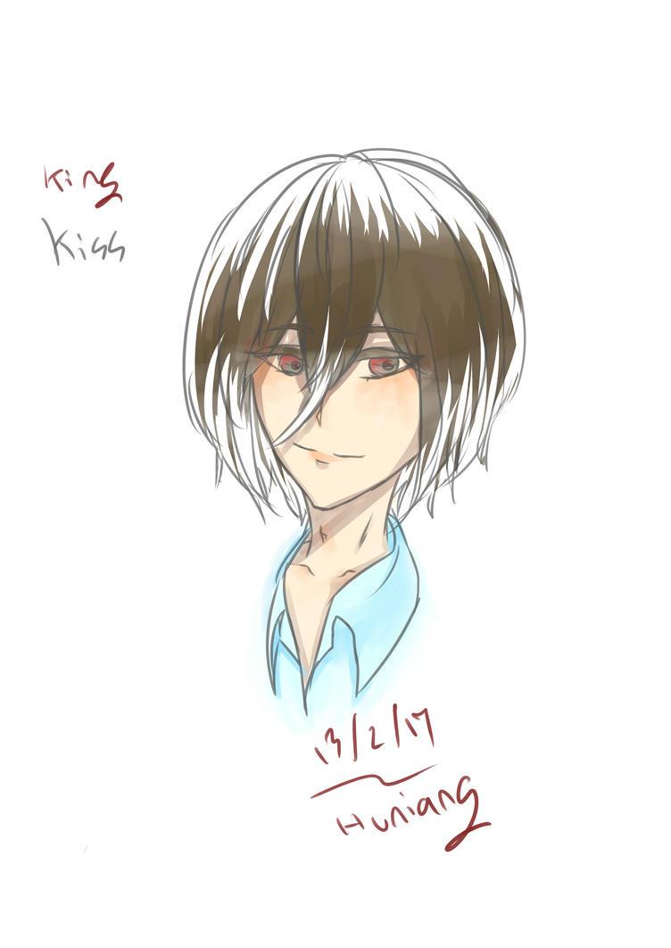[Doodle]Kiss by huuneawww