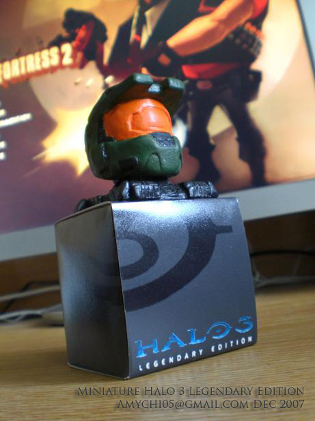 Mini Halo 3 Legendary Edition by 2twoproductions