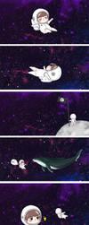 peaceful galaxy dreams by KagomeHikari