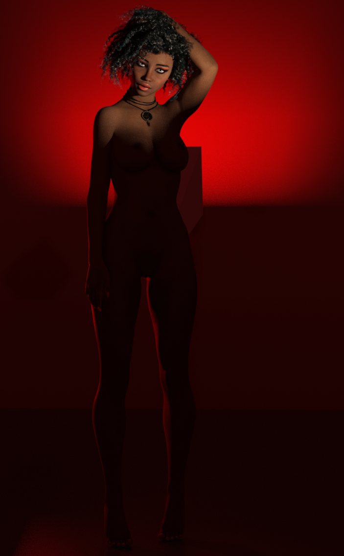 Kensey - Studio Nude 4 by zmortis