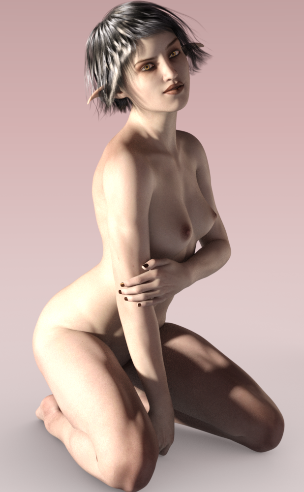 G8 elf - nude by zmortis
