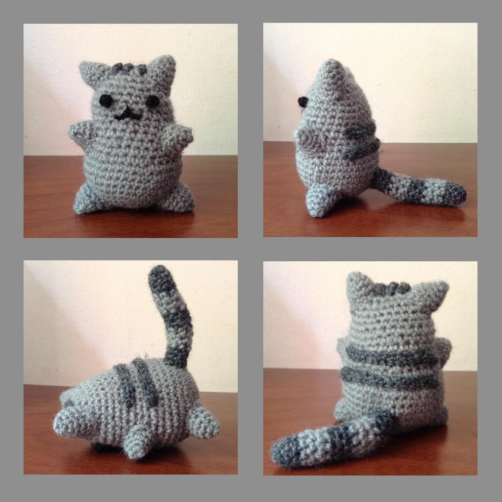Amigurumi Pusheen Cat : Pusheen Amigurumi by franpaillas on DeviantArt