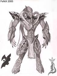 protoss zealot drawing