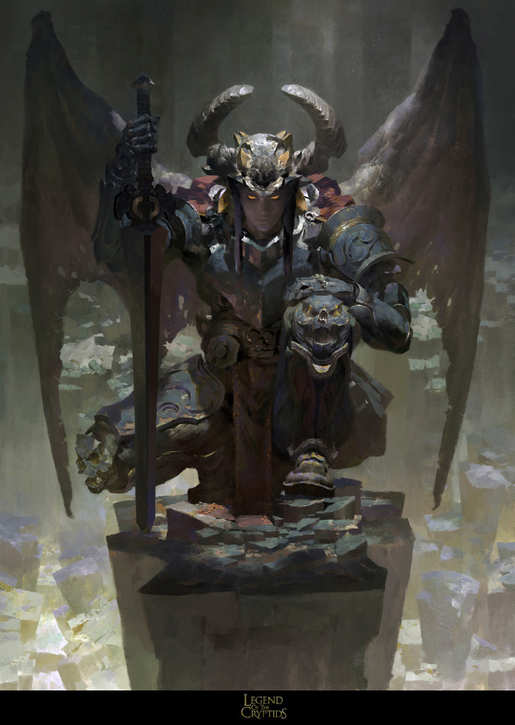 Orcus ,Necrodemon by RuanJia