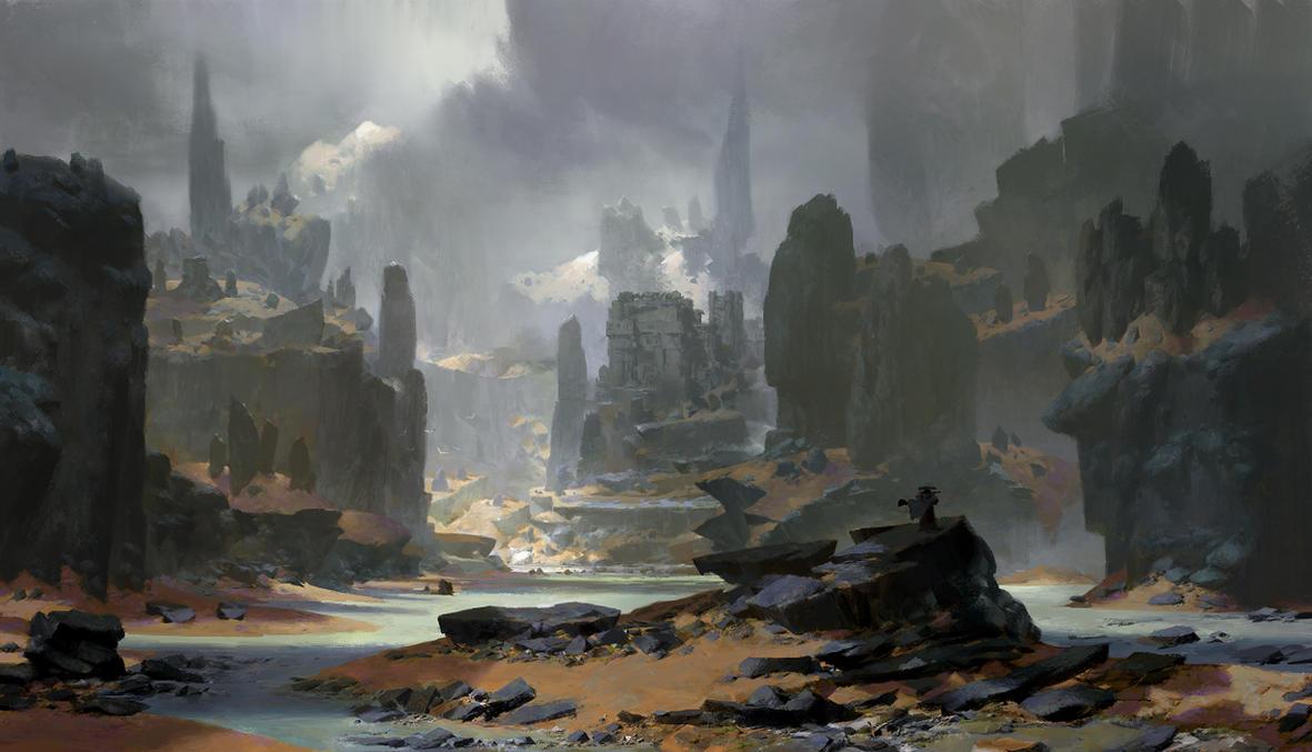 black  stone  rivers by RuanJia