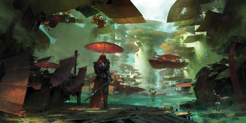 Guild Wars 2 Kite City