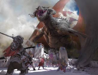 dragon by RuanJia