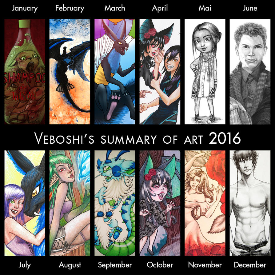 Summary Of Art 2016 - Veboshi by Veboshi