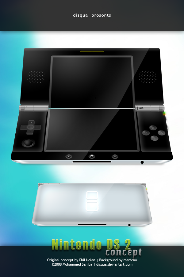 Nintendo DS2 Concept by Disqua