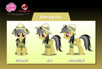 Daring Do Puppet Rigs v1.0