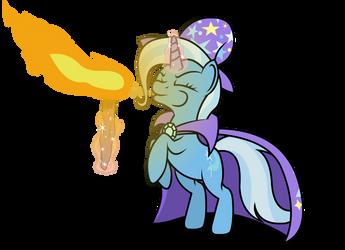 Trixie, show pony extraordinaire