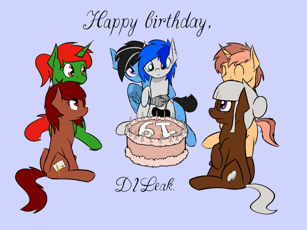 DILeak birthday by Jordo76