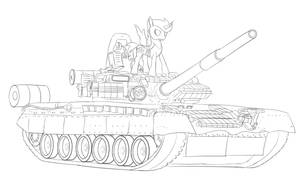 Commission: Wildcard on a T-80BV