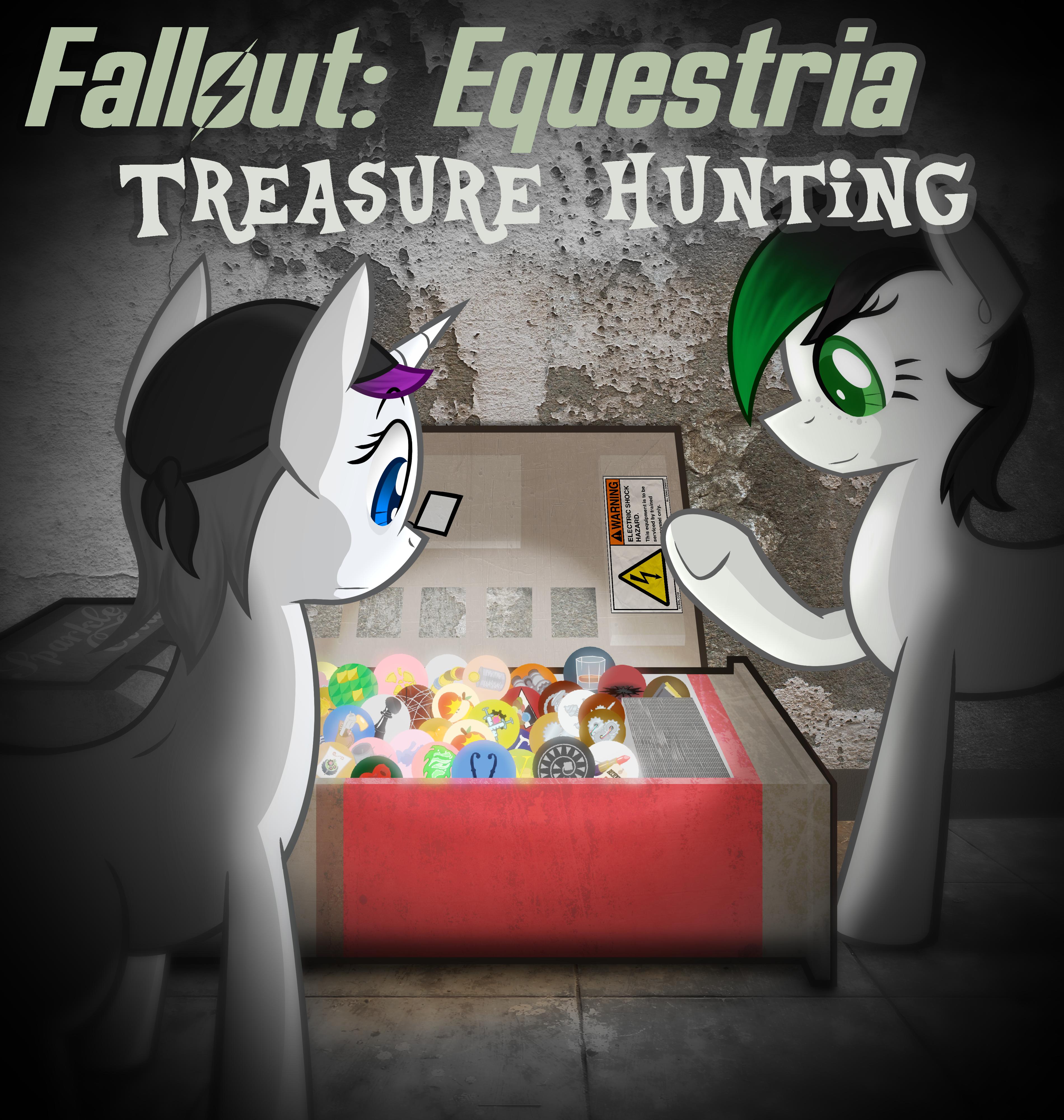 Fallout: Equestria - Treasure Hunting by Jordo76