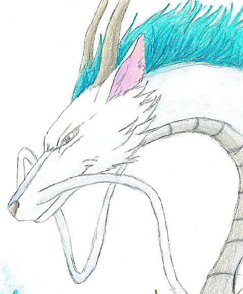 Spirited Away Haku By Kesson On Deviantart