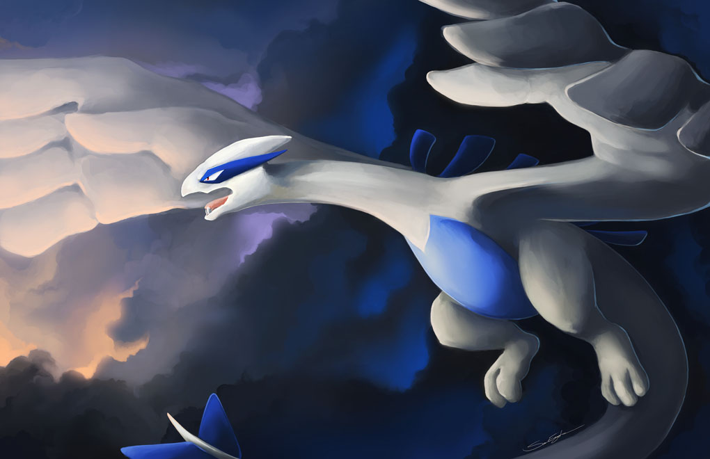 STORMBRINGER LUGIA by blazegryph