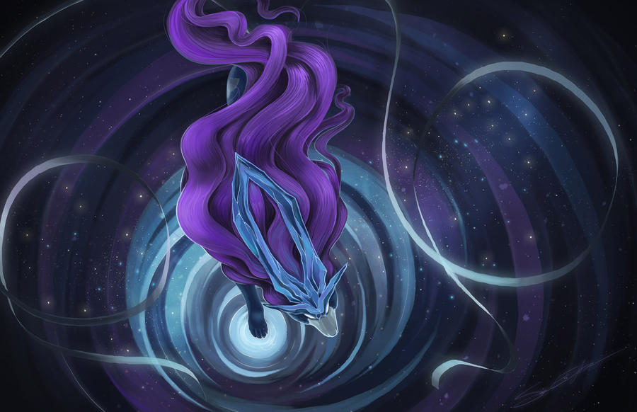 SUICUNE by blazegryph