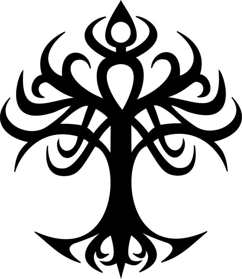 Tree of life tribal by odari