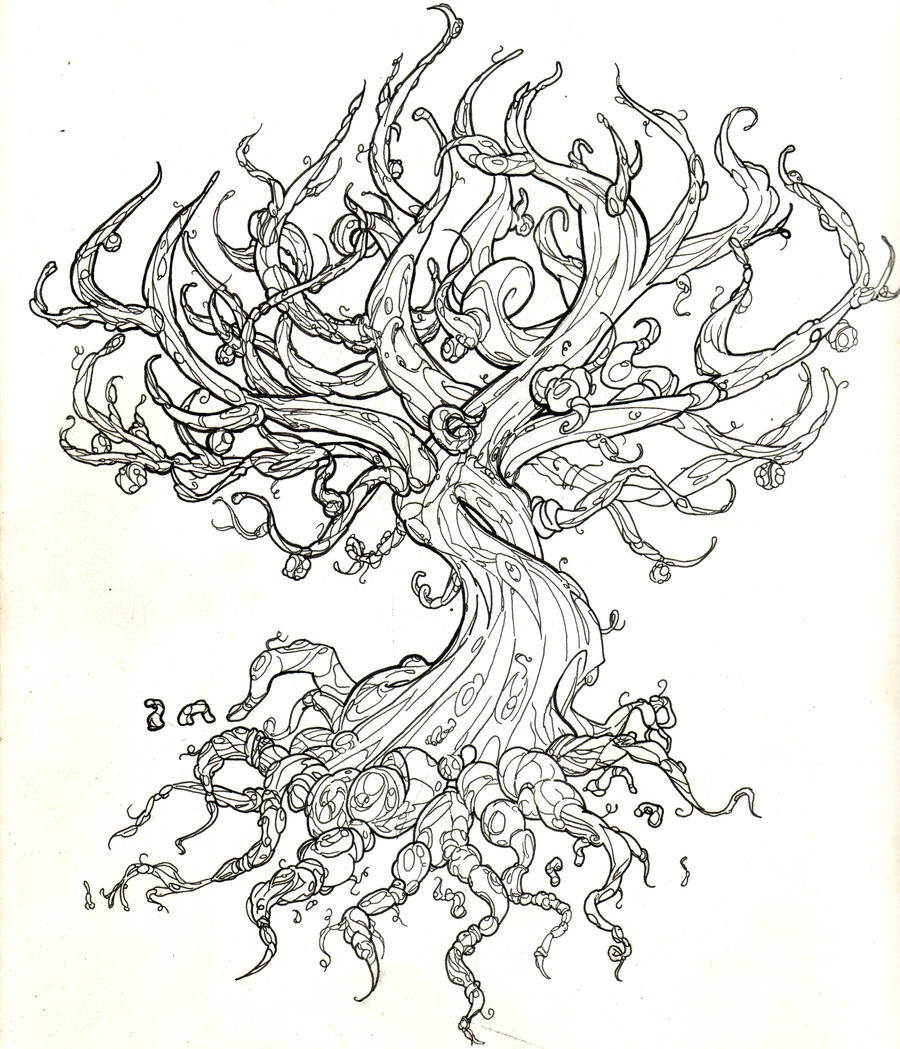 Tree of life by Odari on DeviantArt