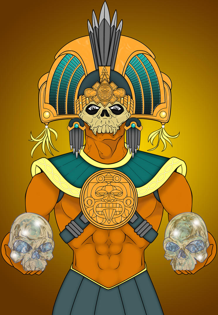 Mayan God Of Death Ima...