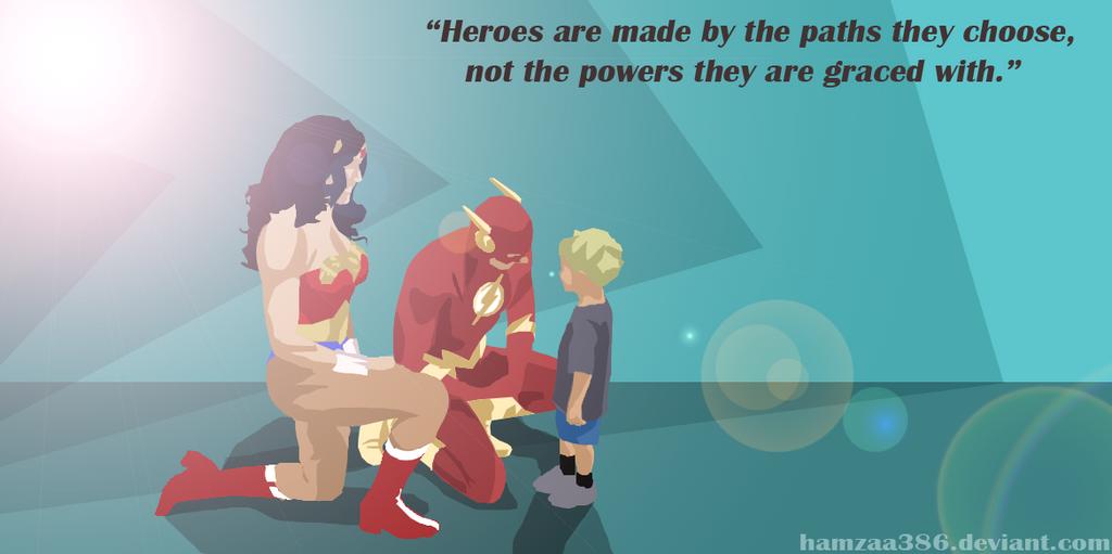 WonderWoman + Flash save the day [ReadDescription] by Hamzaa386