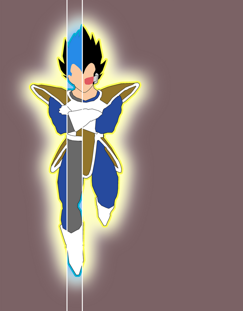 Vegeta through the Ages by Hamzaa386
