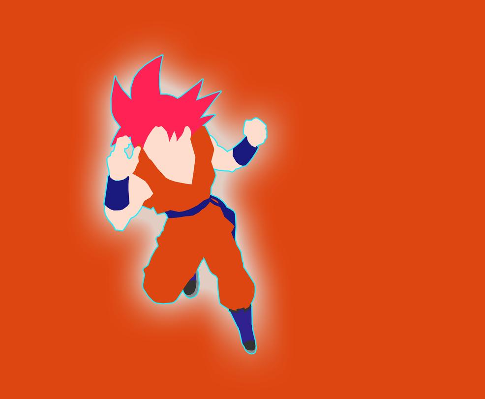 SSJ God Goku  by Hamzaa386