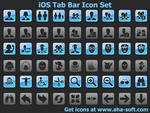 iOS Tab Bar Icon Set