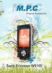 Sony Ericsson W910i Poster