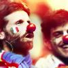 Italian Football Fan Clown by BlacksDA