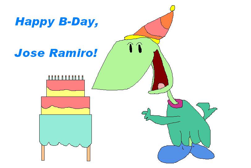 Happy B-Day, Jose Ramiro by nintendolover2010