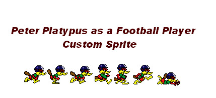 Peter Platypus Custom Sprite by nintendolover2010