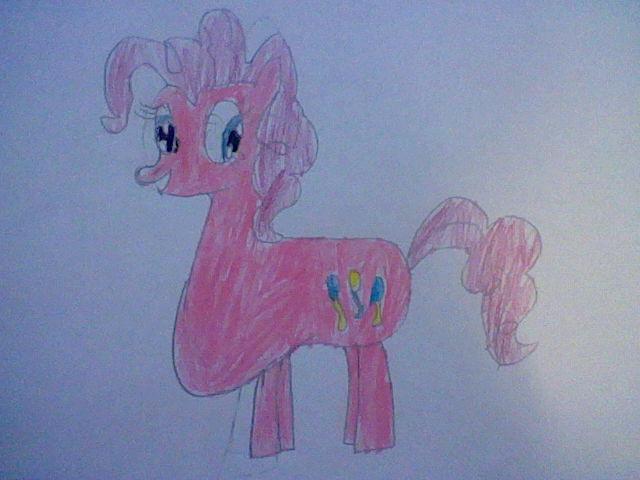 Fat Pinkie Pie by nintendolover2010