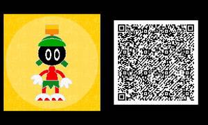 Freakyforms: Marvin the Martian QR Code