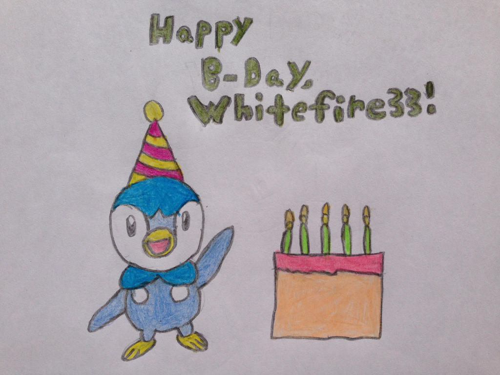 5th Birthday Drawing for Whitefire33 by nintendolover2010